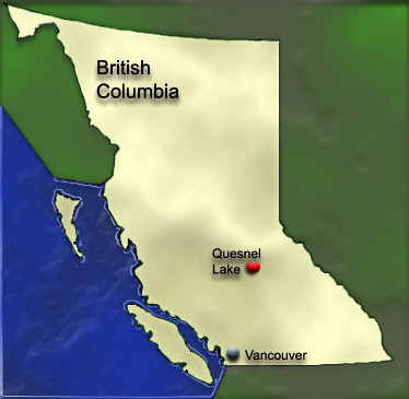 British Columbia Map